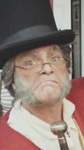 bruce speer as scrooge in bws magical experiences production of scrooged